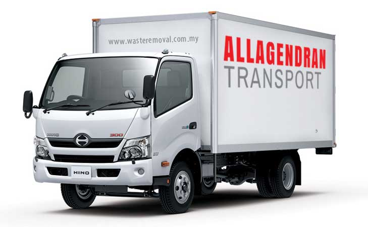 Allagendran Transport Lorry