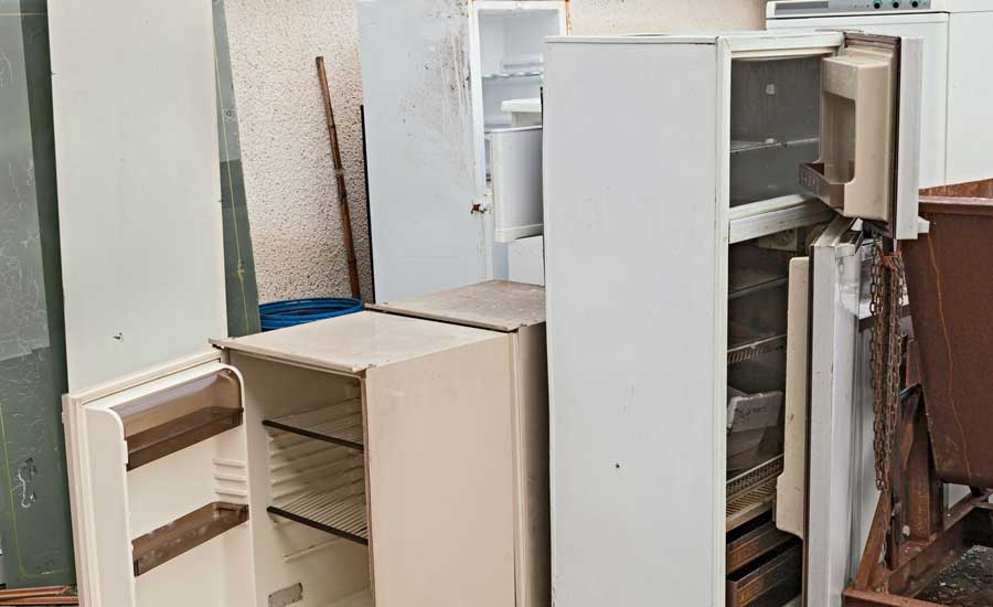 Used Electrical Appliances Waste Removal